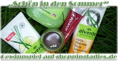 """Gewinne 1 von 30 alverde """"Schön in den Sommer""""-Sets"""